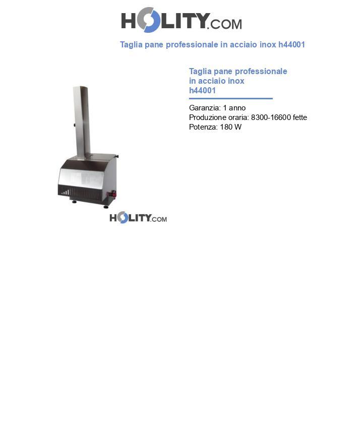 Taglia pane professionale in acciaio inox h44001