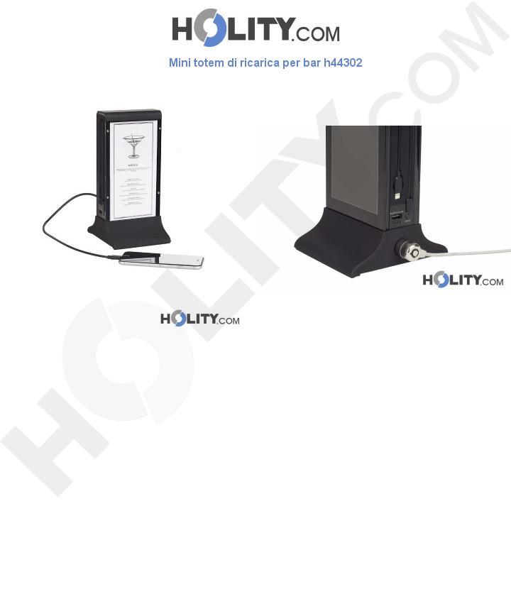 Mini totem di ricarica per bar h44302