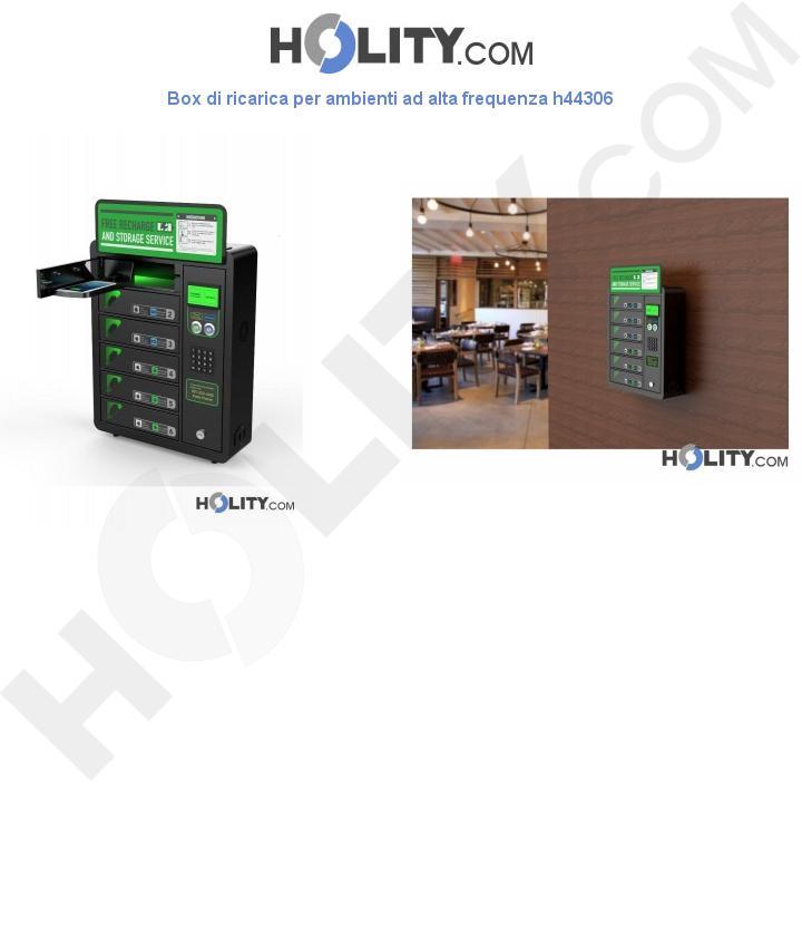 Box di ricarica per ambienti ad alta frequenza h44306