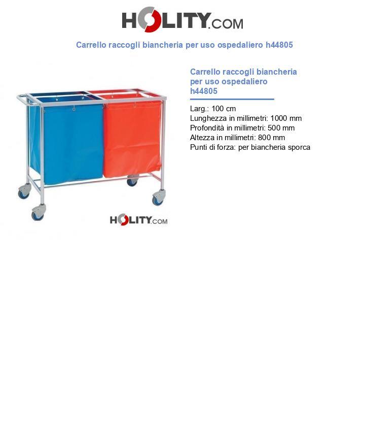 Carrello raccogli biancheria per uso ospedaliero h44805