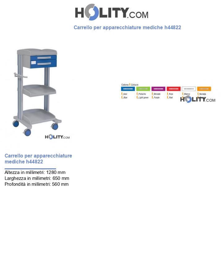 Carrello per apparecchiature mediche h44822