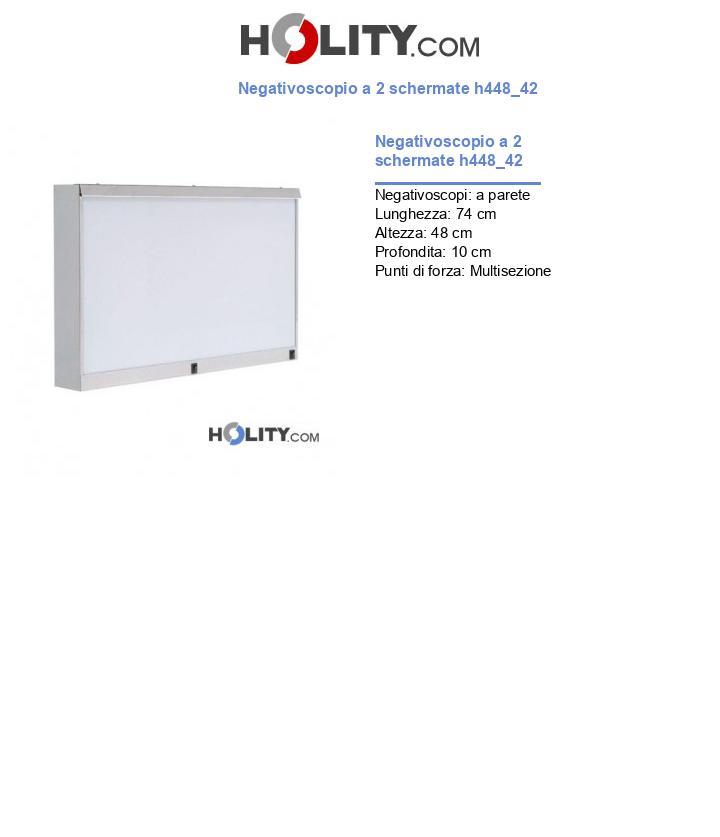 Negativoscopio a 2 schermate h448_42