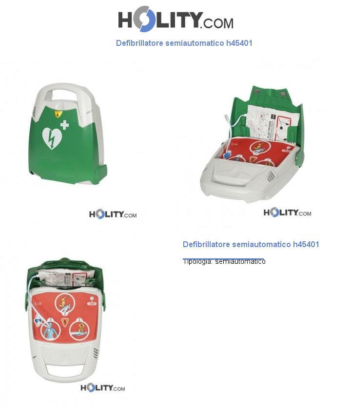 Defibrillatore semiautomatico h45401