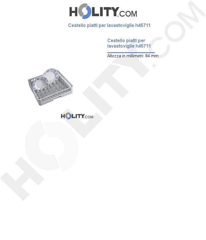 Cestello piatti per lavastoviglie h45711