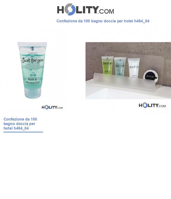 Bagno doccia per linea cortesia hotel h464_04