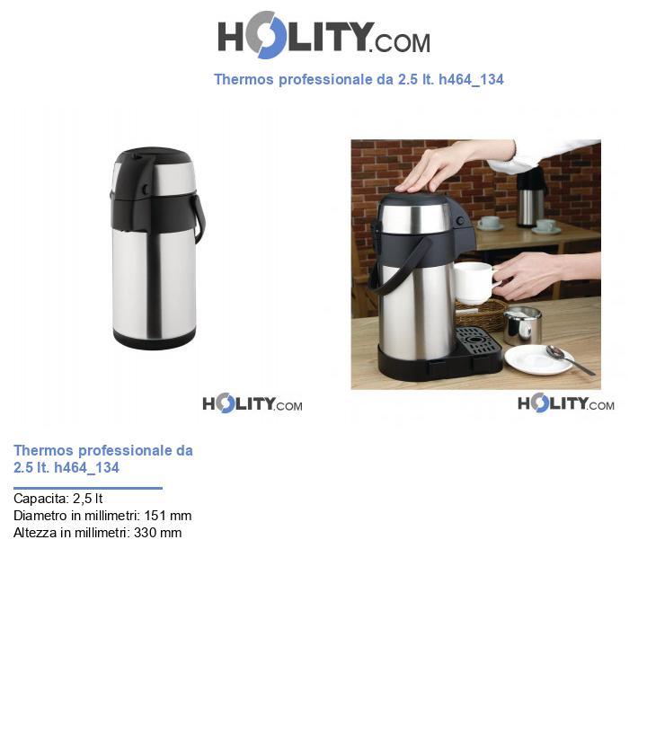 Thermos professionale da 2.5 lt. h464_134