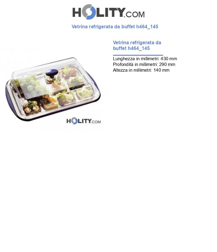 Vetrina refrigerata da buffet h464_145