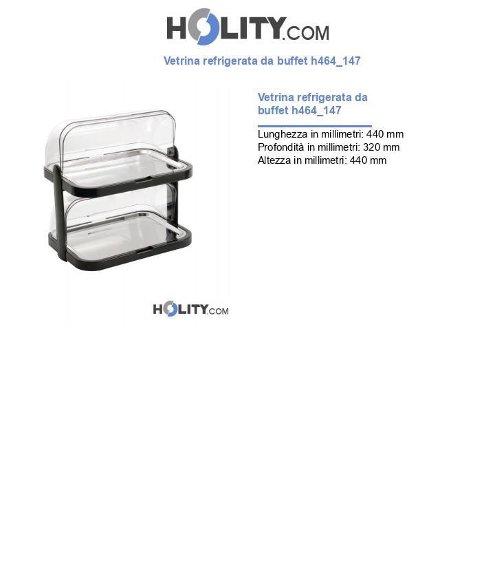 Vetrina refrigerata da buffet h464_147