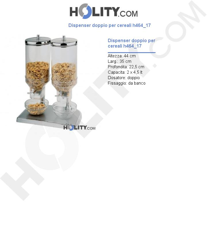 Dispenser doppio per cereali h464_17