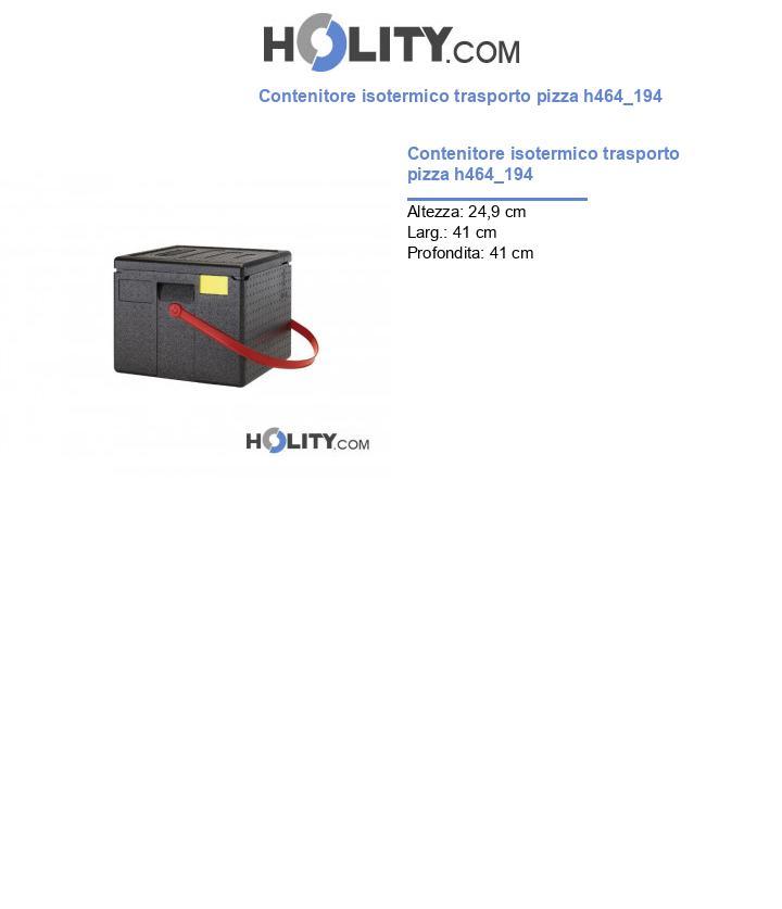 Contenitore isotermico trasporto pizza h464_194
