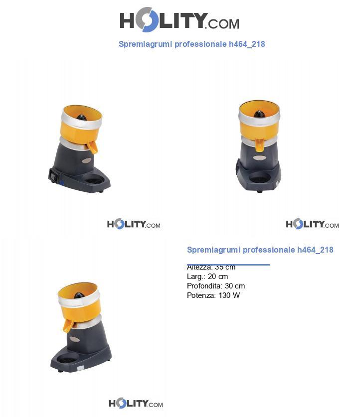 Spremiagrumi professionale h464_218