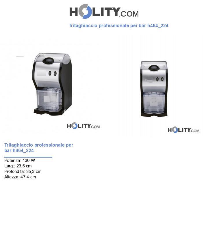 Tritaghiaccio professionale per bar h464_224