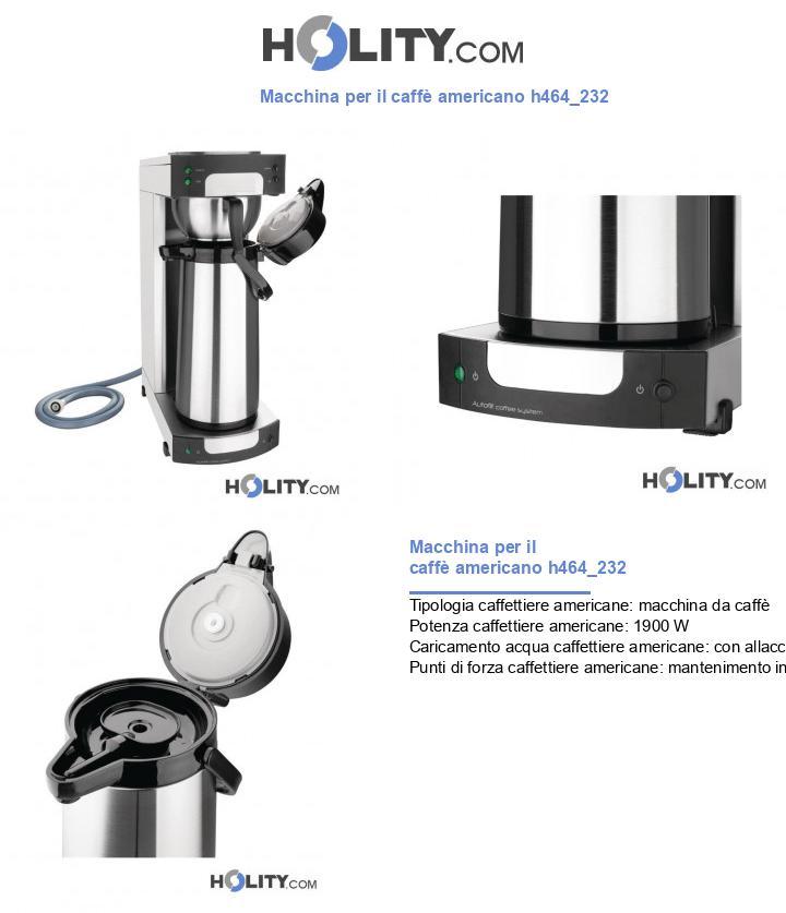 Macchina per il caffè americano h464_232