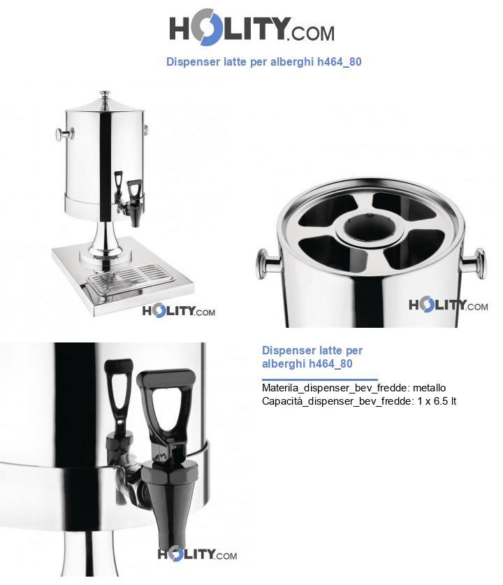 Dispenser latte per alberghi h464_80