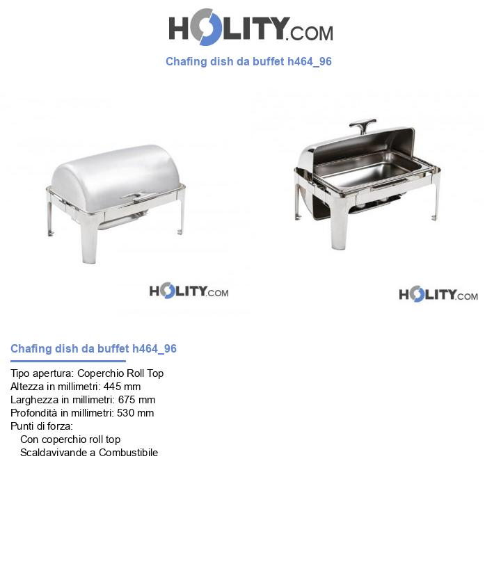 Chafing dish da buffet h464_96