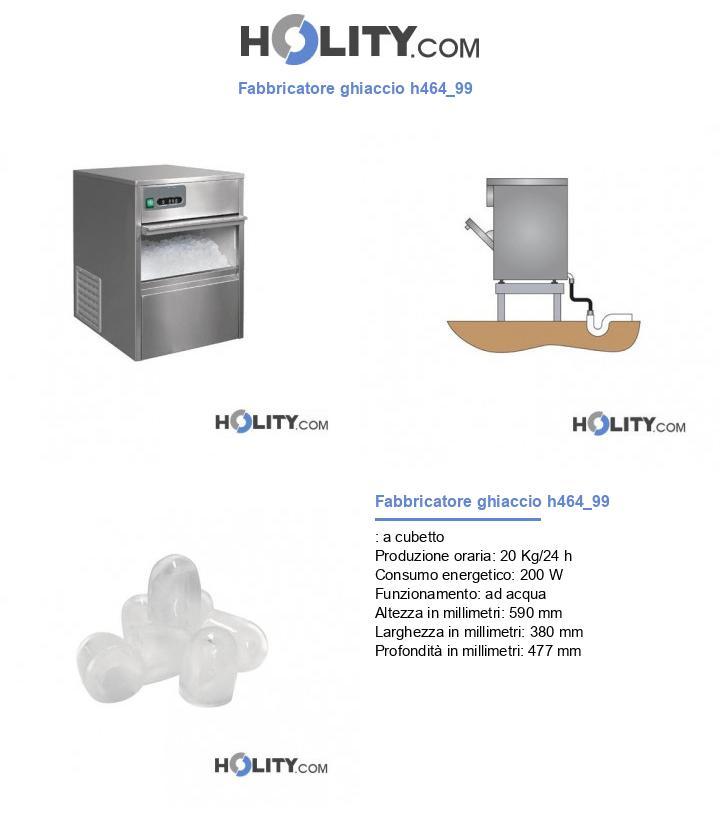 Fabbricatore ghiaccio h464_99
