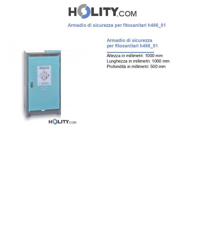 Armadio di sicurezza per fitosanitari h466_01