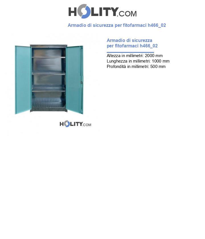 Armadio di sicurezza per fitofarmaci h466_02