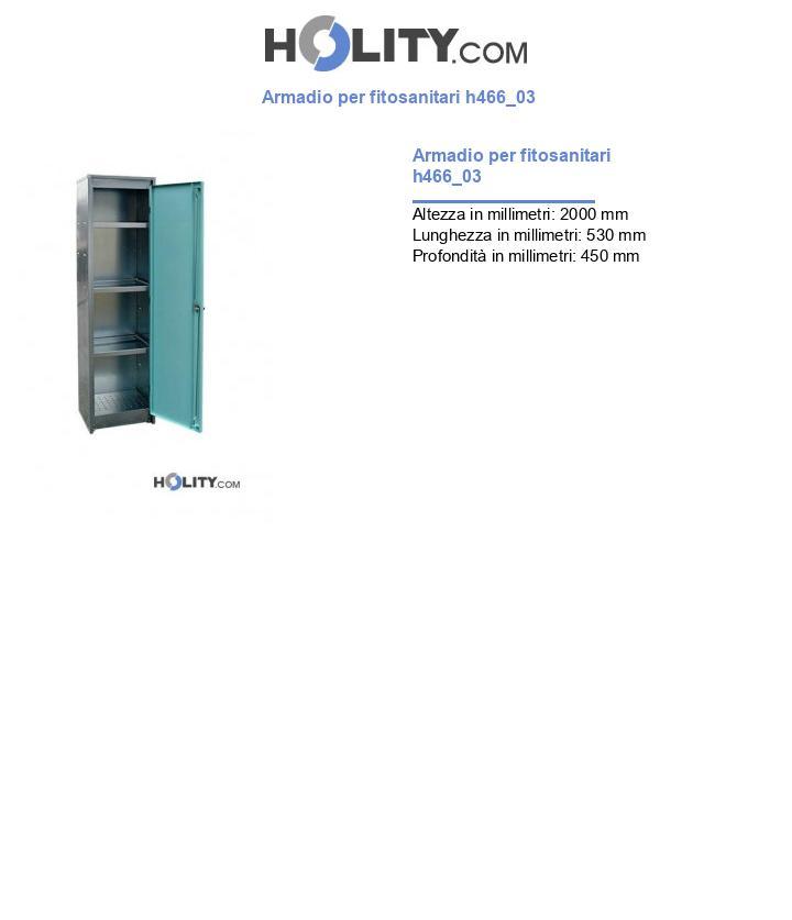 Armadio per fitosanitari h466_03