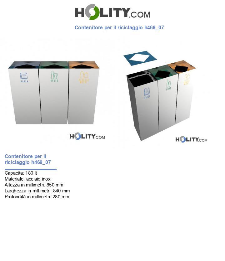 Contenitore per il riciclaggio h469_07