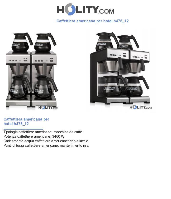 Caffettiera americana per hotel h475_12