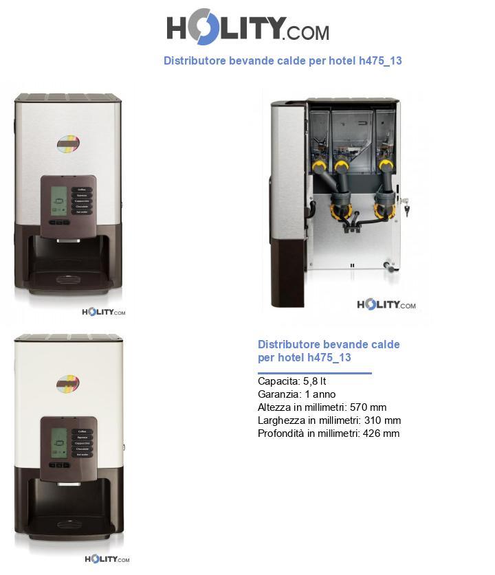 Distributore bevande calde per hotel h475_13