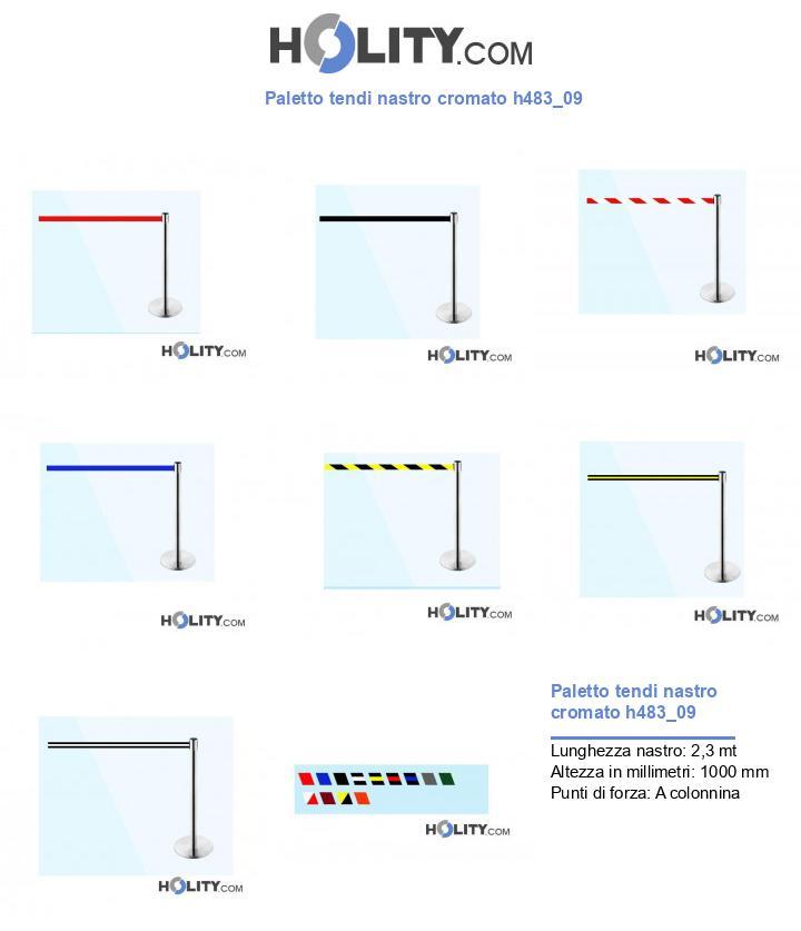 Paletto tendi nastro cromato h483_09