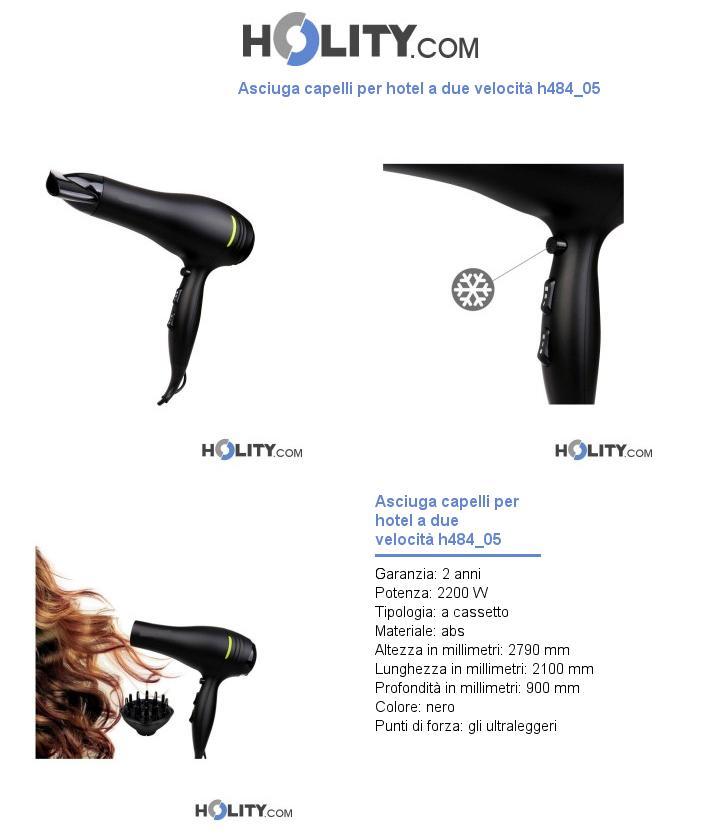 Asciuga capelli per hotel a due velocità h484_05