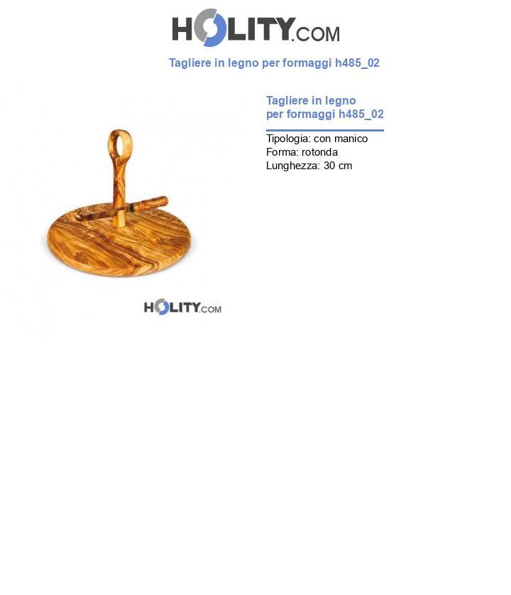 Tagliere in legno per formaggi h485_02