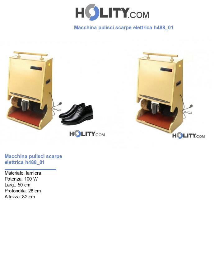 Macchina pulisci scarpe elettrica h488_01