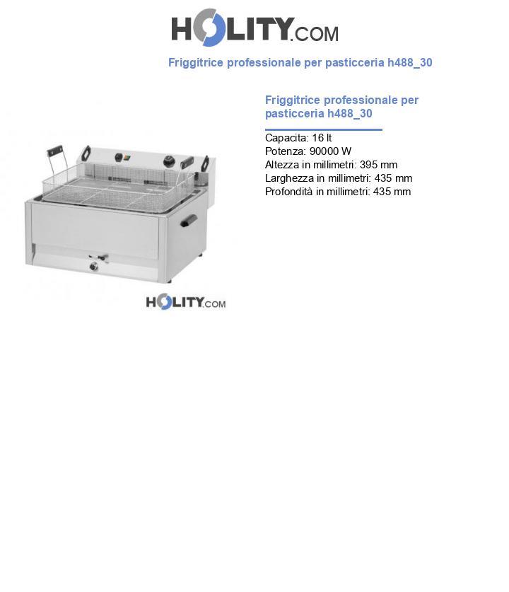 Friggitrice professionale per pasticceria h488_30