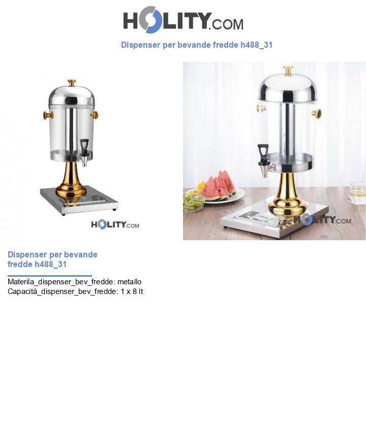 Dispenser per bevande fredde h488_31