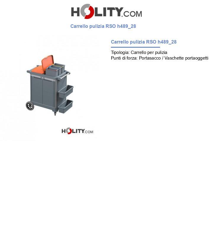 Carrello pulizia RSO h489_28
