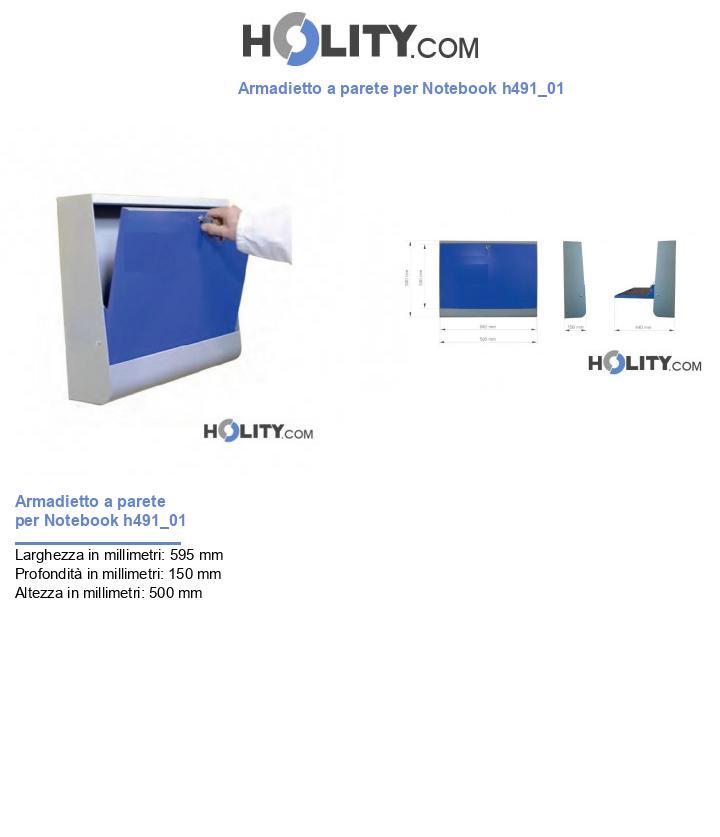 Armadietto a parete per Notebook h491_01