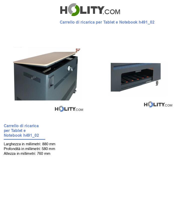 Carrello di ricarica per Tablet e Notebook h491_02