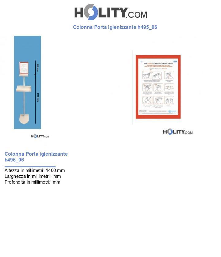 Colonna Porta igienizzante h495_06