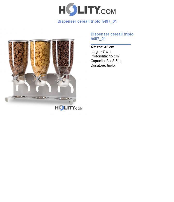 Dispenser cereali triplo h497_01