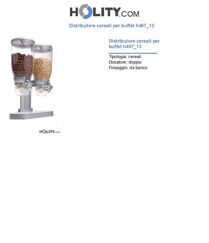Distributore cereali per buffet h497_13
