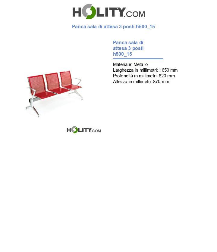 Panca sala di attesa 3 posti h500_15