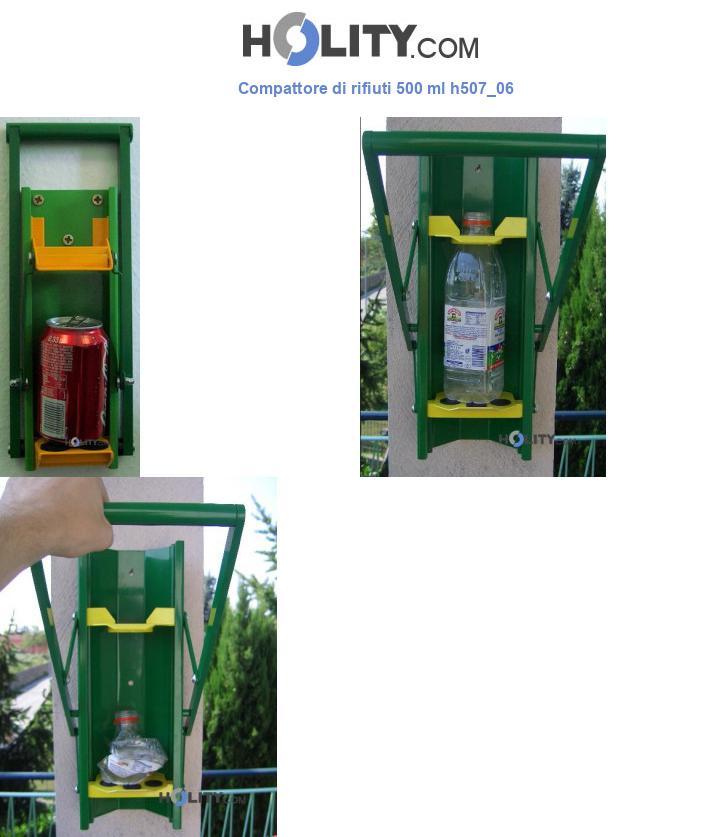 Compattore di rifiuti 500 ml h507_06