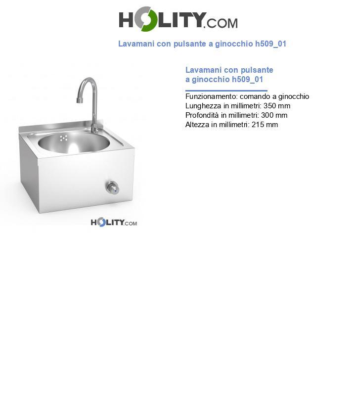 Lavamani con pulsante a ginocchio h509_01