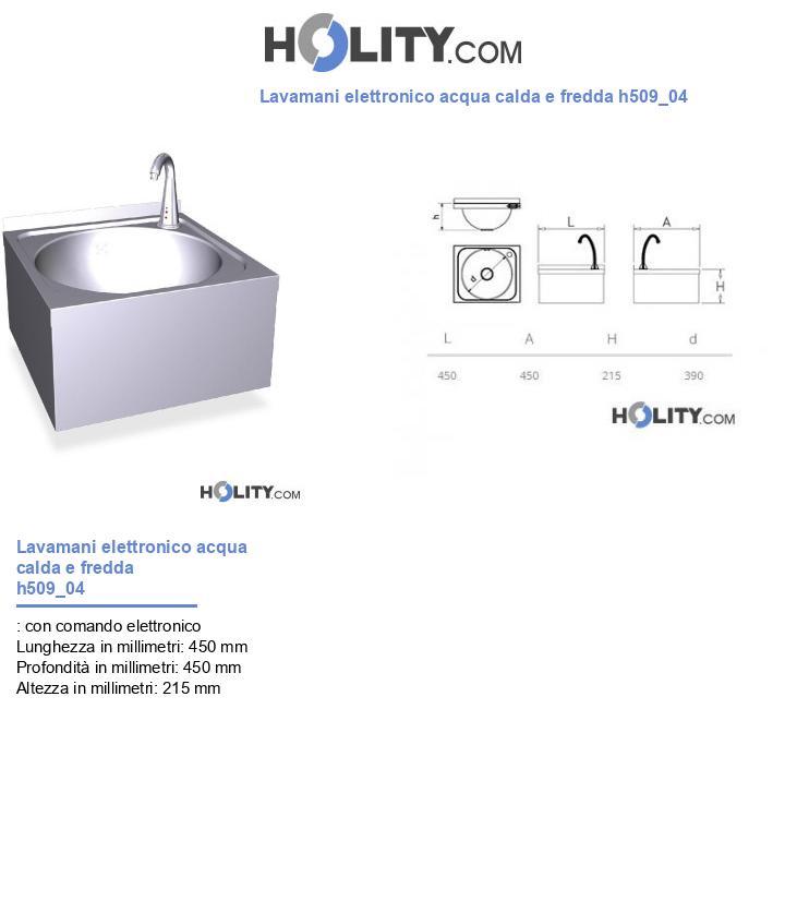 Lavamani elettronico acqua calda e fredda h509_04