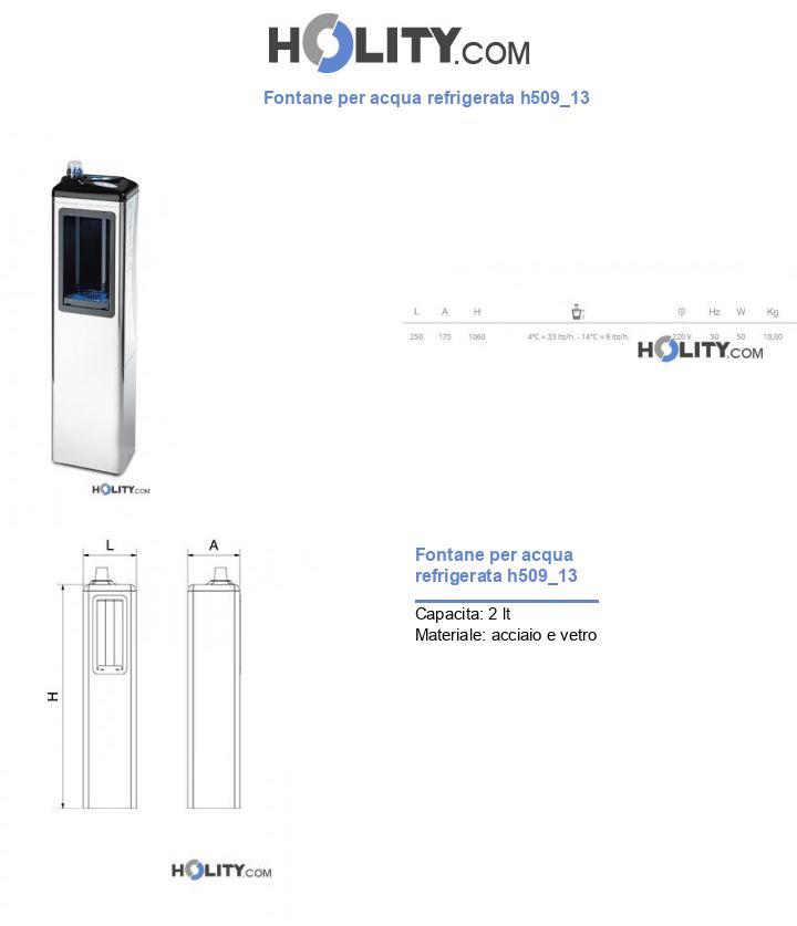 Fontane per acqua refrigerata h509_13