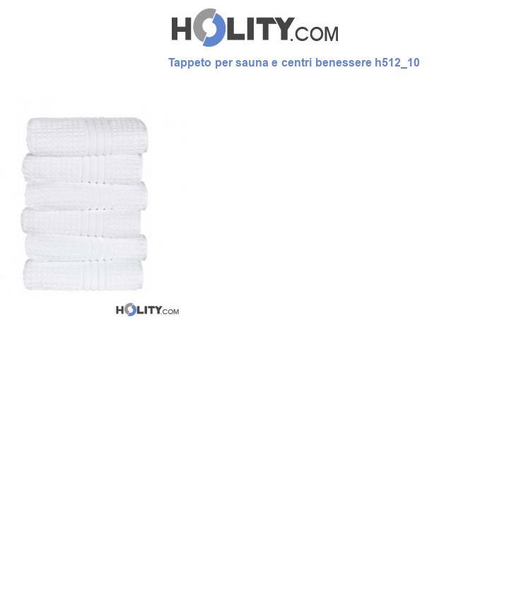 Tappeto per sauna e centri benessere h512_10