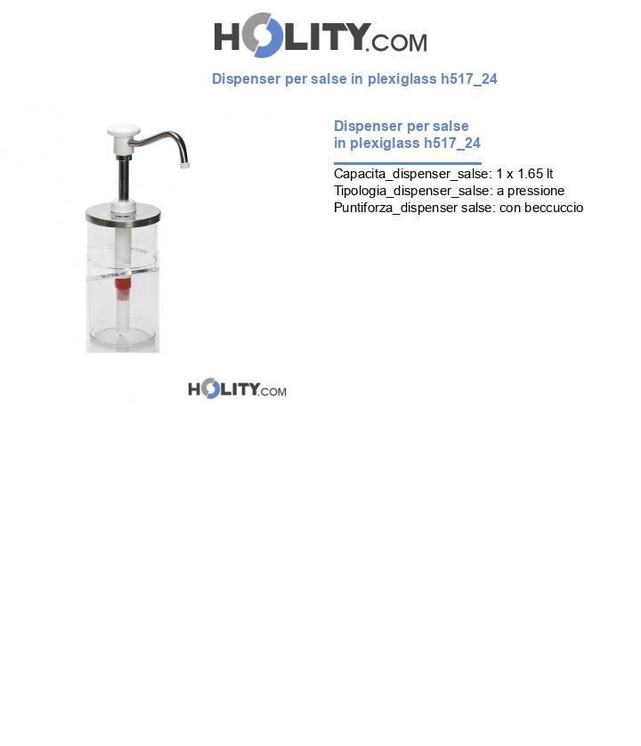 Dispenser per salse in plexiglass h517_24
