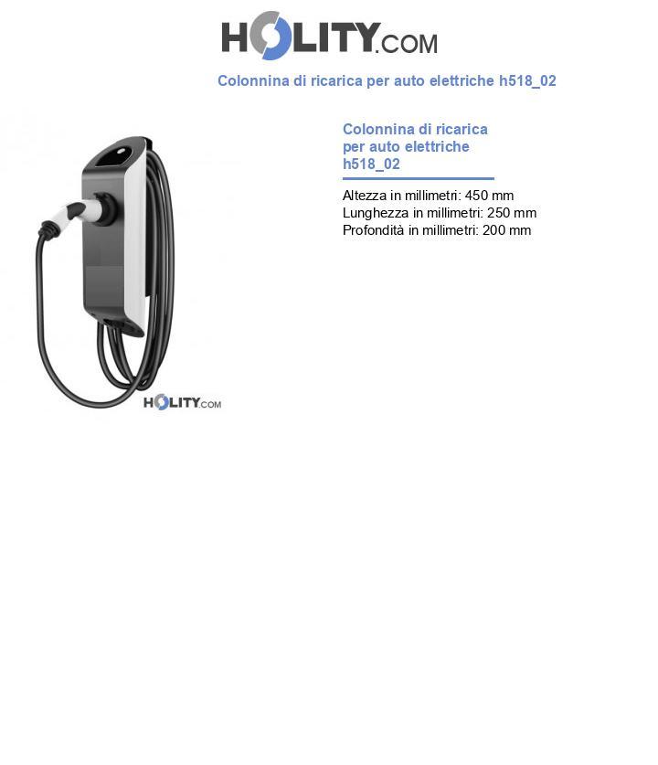 Colonnina di ricarica per auto elettriche h518_02