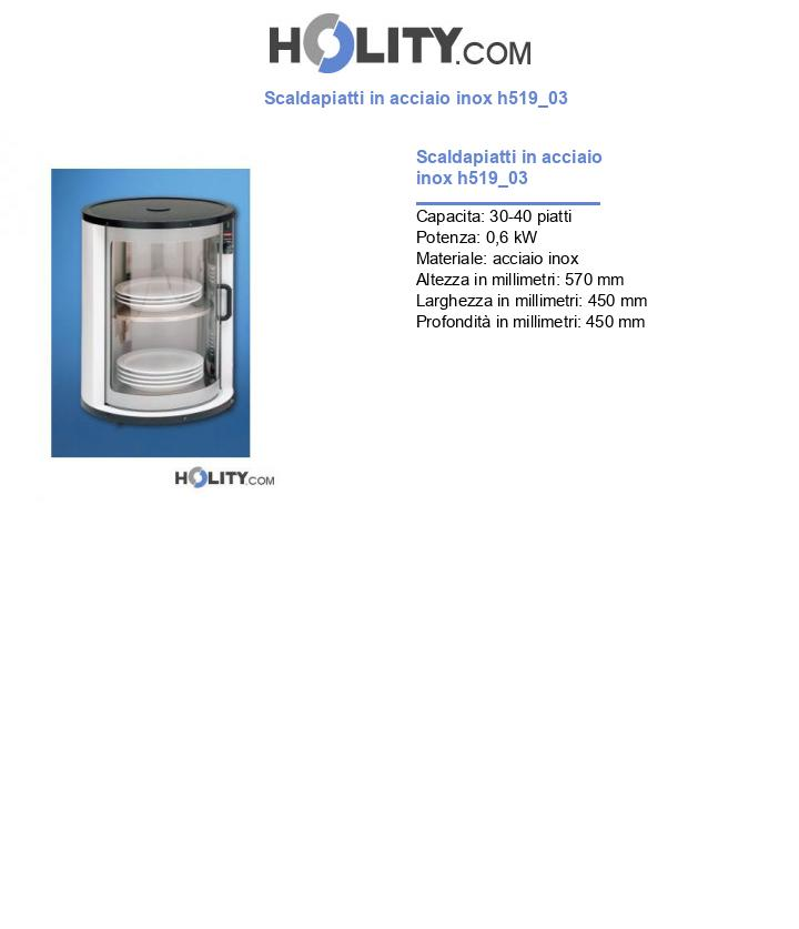 Scaldapiatti in acciaio inox h519_03