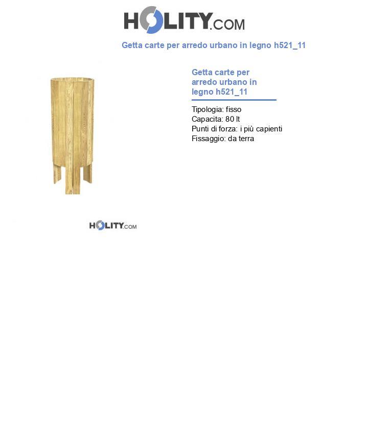 Getta carte per arredo urbano in legno h521_11