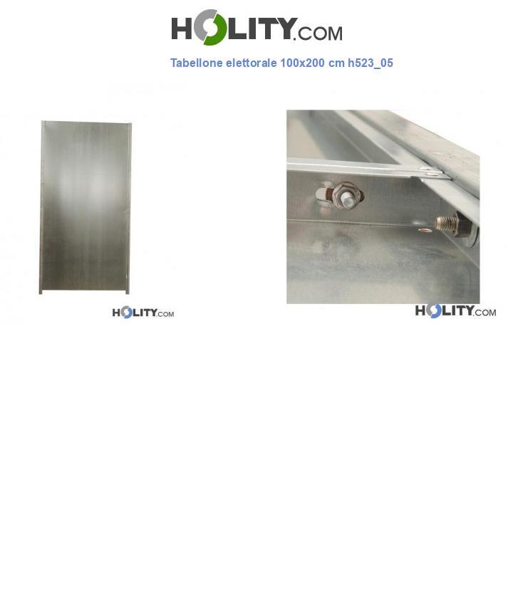 Tabellone elettorale 100x200 cm h523_05