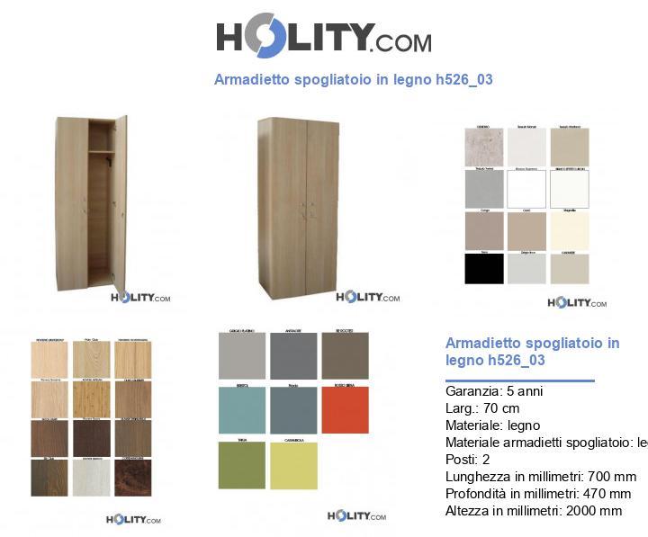 Armadietto spogliatoio in legno h526_03